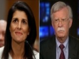 Amb. Bolton Critiques Nikki Haley's Confirmation Hearing