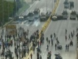 Anti-government Protests Underway In Caracas, Venezuela