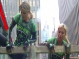 Ainsley Earhart, Jillian Mele Take The Green Beret Challenge