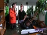 A Look Inside A Flooded Home In Houston
