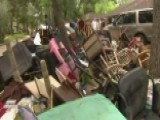 Agonizing Clean-up Process Begins In Dickinson, Texas