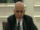 Afghan President Thanks Americans For Sacrifices