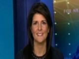 Amb. Haley On Mideast Peace Process, North Korea Threat