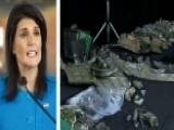 Amb. Haley Accuses Iran Of Funneling Weapons To Terrorists