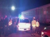 Amtrak Train Collides With Freight Train In South Carolina