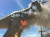 Animatronic T-Rex Catches Fire In Colorado