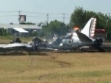 Authorities Respond To Vintage Plane Crash In Texas