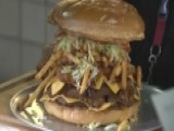 Arizona Cardinals Challenge Fans To Eat Massive Burger