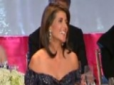 Amb. Nikki Haley Jokes About Trump, Warren At NY Gala