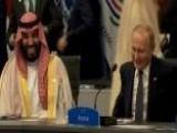 All Smiles: Putin Greets Saudi Crown Prince At G20 Summit