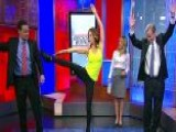 Brooke Burke-Charvet's Fancy Footwork