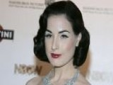 Break Time: Dita Von Teese Posts Steamy Car Ad