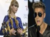 Bieber Booed, Swift Wins Big At Billboard Music Awards