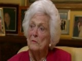 Barbara Bush On Handling Criticism