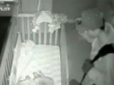 Burglar Caught Standing Over Baby's Crib