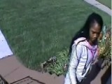 Brazen Female Burglar Caught On Tape