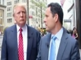 Brian Kilmeade Takes A Stroll With Donald Trump