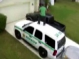 Busted For Bustin' A Move: Man Dances On Sheriff's SUV