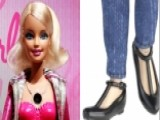 Barbie Ditches Her Heels