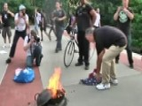 Brooklyn Flag-burning Rally Sparks Outrage