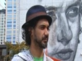 Bob Dylan Immortalized In Massive Mural