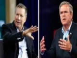 Bush Faces Tough Challenge From Kasich In New Hampshire