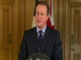 British PM David Cameron Gives Statement On Paris Attacks