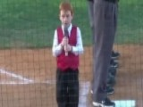 Boy Overcomes Hiccups To Perform Amazing Anthem