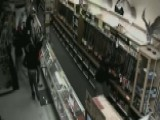 Brazen Smash-and-grab Gun Heist Caught On Camera