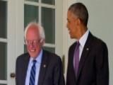 Bernie Sanders Sits Down With President Obama