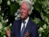 Bill Clinton: Muhammad Ali Decided To Write His Own Story