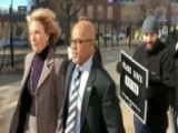 Betsy DeVos Greeted By Protesters At DC Public School