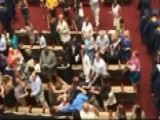 Brawl Breaks Out At High School Graduation Ceremony