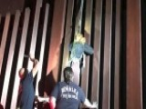 Border Patrol Agents Rescue Woman Dangling From Border Wall