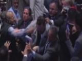 Brawl Breaks Out At Erdogan Speech In New York City