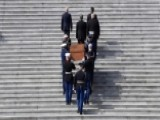 Billy Graham's Casket Arrives At The Capitol