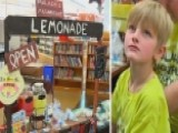 Boy's Lemonade Stand Raises Money For Fallen Cop's Family