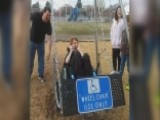 Boy's Delight Over New Wheelchair Swing Will Warm Your Heart