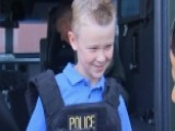 Boy's Lemonade Stand Raises Money For Fallen Police Officers