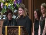 Barbara Bush's Granddaughters Read From Proverbs
