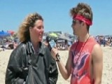 Beachgoers Flunk Independence Day Pop Quiz