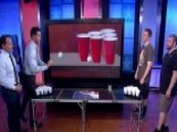 Beer Pong Champions Take On Watters