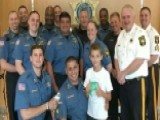 Boy Entrepreneur Inspires Kids To Support The Police