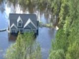 Blackhawk Ride Along Reveals Extent Of Florence Flooding