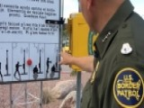 Border Patrol Discourages Migrants From Crossing Desert
