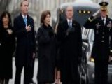 Bush Family Makes Emotional Goodbye To Former President