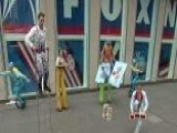 Big Apple Circus Performs On Fox Square