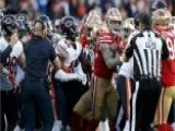 Bears, 49ers Brawl After Late Hit On Chicago QB Mitchell Trubisky
