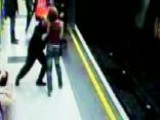 Caught On Tape: Man Pushes 23-year-old Woman Onto Tracks