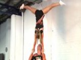 Cheerleaders Ditch The Pom Poms